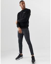 schwarzes Sweatshirt von Nicce London