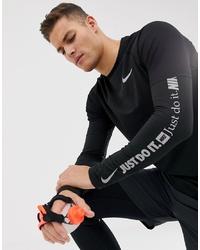 schwarzes Sweatshirt von Nike Running