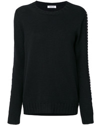 schwarzes Sweatshirt von P.A.R.O.S.H.