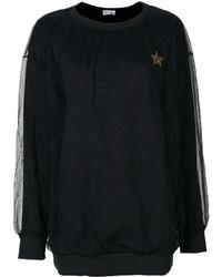 schwarzes Sweatshirt von RED Valentino