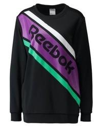 Schwarzes Sweatshirt von Reebok