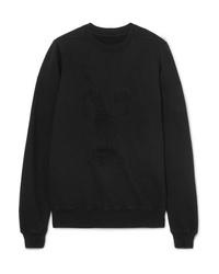 schwarzes Sweatshirt von Rick Owens