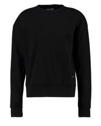 schwarzes Sweatshirt von Sixth June