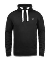 schwarzes Sweatshirt von Solid