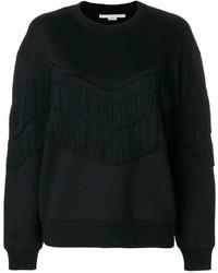 schwarzes Sweatshirt von Stella McCartney