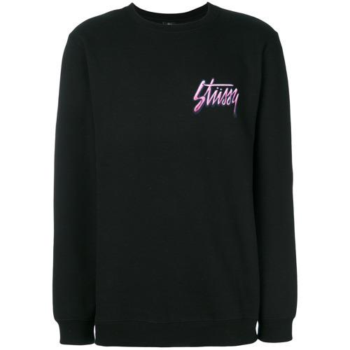 €98, schwarzes Sweatshirt von Stussy