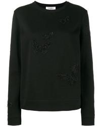 schwarzes Sweatshirt von Valentino
