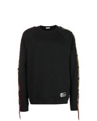 schwarzes Sweatshirt von Versace Collection