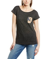 Schwarzes T-Shirt mit Rundhalsausschnitt von Billabong