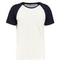schwarzes T-Shirt mit einem Rundhalsausschnitt von Lee