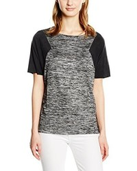 schwarzes T-shirt von Calvin Klein Jeans