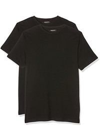 schwarzes T-shirt von Karl Lagerfeld