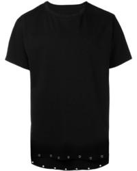 schwarzes T-shirt von RtA