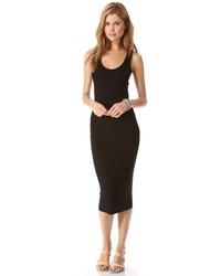 schwarzes Trägerkleid von Enza Costa