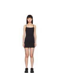 schwarzes Trägerkleid von Gil Rodriguez