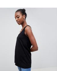 schwarzes Trägershirt von Asos Tall
