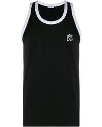 schwarzes Trägershirt von Dolce & Gabbana