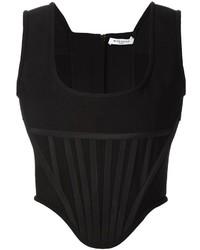 schwarzes Trägershirt von Givenchy