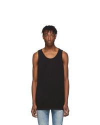 schwarzes Trägershirt von John Elliott