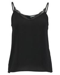 schwarzes Trägershirt von KIOMI