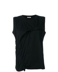 schwarzes Trägershirt von Marni