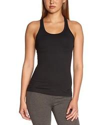 schwarzes Trägershirt von Nike