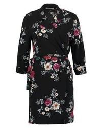 Schwarzes Tuxedokleid mit Blumenmuster von Glamorous