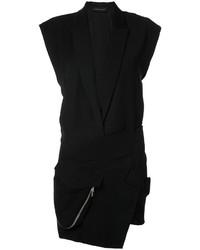 schwarzes Tuxedokleid von Alexandre Vauthier
