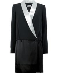 schwarzes Tuxedokleid von Lanvin