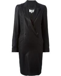 schwarzes Tuxedokleid von Maison Margiela