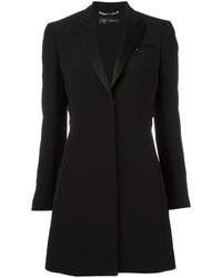 schwarzes Tuxedokleid von Versace