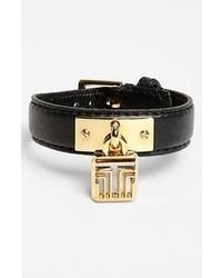 schwarzes und goldenes Armband