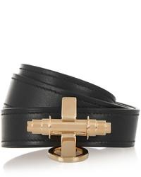 schwarzes und goldenes Armband von Givenchy