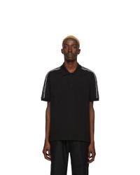 schwarzes und weißes Polohemd von Givenchy