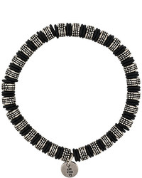 schwarzes Perlen Armband von Eleventy
