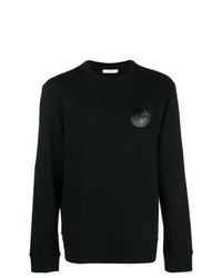 schwarzes verziertes Sweatshirt von Versace Collection