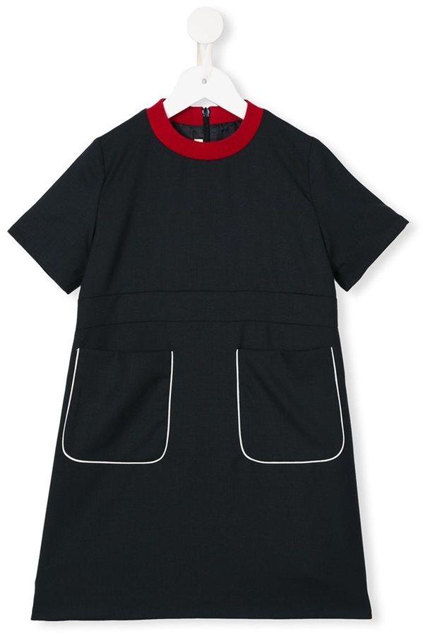 schwarzes Wollkleid von Marni