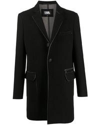 schwarzes Wollsakko von Karl Lagerfeld