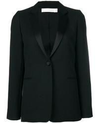 schwarzes Wollsakko von Victoria Beckham