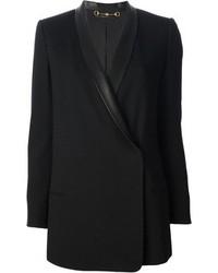 schwarzes Zweireiher-Sakko von Gucci