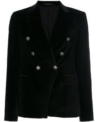 schwarzes Zweireiher-Sakko von Tagliatore