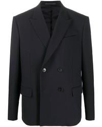 schwarzes Zweireiher-Sakko von Valentino