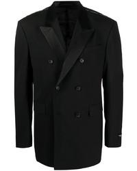 schwarzes Zweireiher-Sakko von Versace
