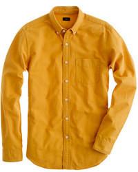 senf Langarmhemd