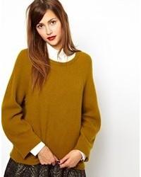 senf Oversize Pullover