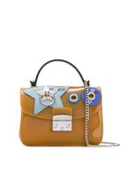 senf Satchel-Tasche aus Leder von Furla