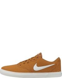 senf Segeltuch niedrige Sneakers von Nike SB
