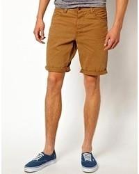 senf Shorts von Minimum
