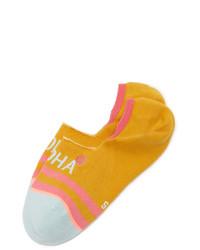 senf Socken von Stance