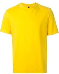 senf T-Shirt mit einem Rundhalsausschnitt von Neil Barrett